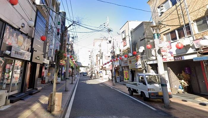 ニシタチ(西橘通り周辺)