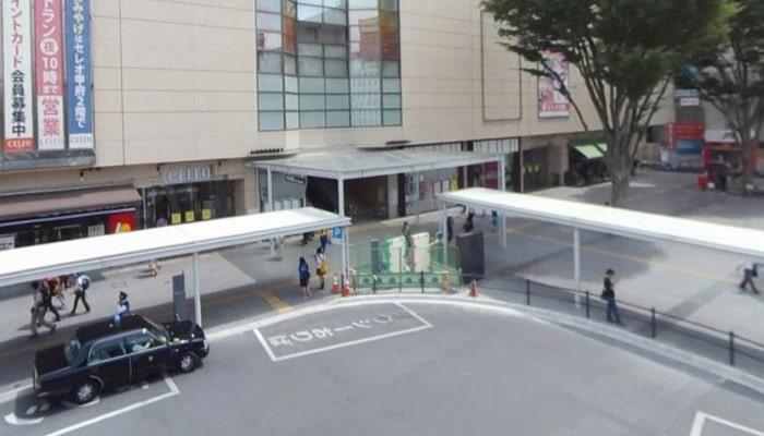 甲府駅周辺