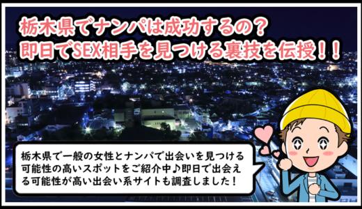 栃木(宇都宮)のナンパスポットをご紹介!夜遊びにイチ押しの居酒屋・バー・クラブまとめ